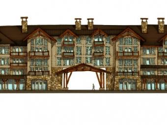 Luxury Mountain Hotel Design